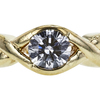 0.71 ct. Round Cut Solitaire Ring, E, SI2 #4