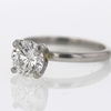 1.05 ct. Round Cut Solitaire Ring #3