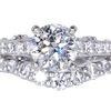 1.30 ct. Round Cut Bridal Set Ring #3