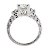 1.52 ct. Princess Cut Bridal Set Ring #1