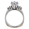 1.27 ct. Oval Cut Bridal Set Ring, H, SI2 #2