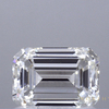 1.02 ct. Emerald Cut Solitaire Ring, I, VVS2 #1