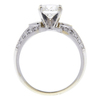 1.37 ct. Round Cut Solitaire Ring, H, I1 #4