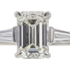 1.75 ct. Emerald Cut 3 Stone Tiffany & Co. Ring, I, VVS1 #4