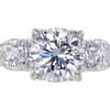 1.95 ct. Round Cut Bridal Set Ring #1