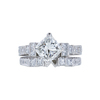 1.74 ct. Princess Cut Bridal Set Ring, H, VS2 #3