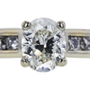 1.01 ct. Oval Cut Bridal Set Ring, I, VVS2 #4