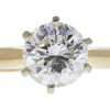 1.15 ct. Round Cut Solitaire Ring, I-J, SI2-I1 #1