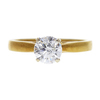 1.07 ct. Round Cut Solitaire Ring, H, SI2 #3