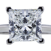 4.05 ct. Princess Cut Bridal Set Tiffany & Co. Ring, G, VS1 #4