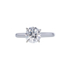 1.50 ct. Round Cut Solitaire Ring, I, SI2 #4