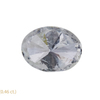 0.51 ct. Oval Cut 3 Stone Ring, H, I1 #3