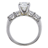 1.22 ct. Round Cut Solitaire Ring, G, SI1 #4