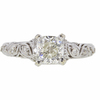 1.01 ct. Cushion Modified Cut Solitaire Ring, J, VS2 #3