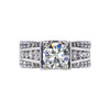 1.70 ct. Round Cut Solitaire Ring, M, VVS2 #3