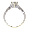0.84 ct. Round Cut Solitaire Ring, H, SI1 #4