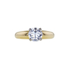 1.19 ct. Round Cut Solitaire Ring, G, VS2 #3