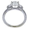1.08 ct. Old European Cut Solitaire Ring, K, VS2 #3