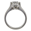 1.17 ct. Round Cut Solitaire Ring, G, VS1 #4