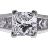 1.74 ct. Princess Cut Solitaire Ring, F, SI1 #4