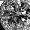 1.10 ct. Round Cut Halo Ring #2