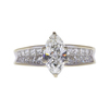 1.01 ct. Marquise Cut Solitaire Ring, H, VS2 #3