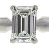 1.02 ct. Emerald Cut Bridal Set Ring, H, VVS1 #1