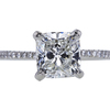 2.02 ct. Cushion Cut Solitaire Ring, H, VS2 #4