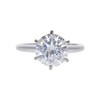Art Deco GIA 2.5 ct. Round Cut Solitaire Ring, F, SI2 #2