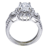 1.75 ct. Oval Cut Bridal Set Ring, G, SI1 #3