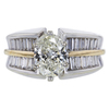 1.54 ct. Oval Cut Solitaire Ring, K, SI1 #3