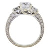 1.5 ct. Round Cut Bridal Set Ring, E-F, I2 #3