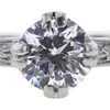 0.71 ct. Round Cut Solitaire Ring, D, VVS1 #4