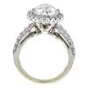 3.31 ct. Round Modified Cut Bridal Set Ring, I, I1 #3