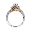1.01 ct. Round Cut Halo Ring #3