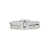 0.77 ct. Emerald Cut Bridal Set Ring, D, VS2 #3