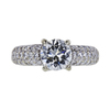 1.47 ct. Round Cut Solitaire Ring, I, SI2 #3