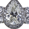3.05 ct. Pear Cut Halo Ring, I-J, I1 #1