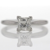 1.08 ct. Princess Cut Solitaire Ring #1