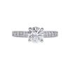 1.09 ct. Round Cut Bridal Set Ring, I-J, SI1 #2