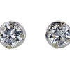 1.28 ct. Round Cut Stud Earrings, M, I1 #2