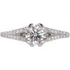 0.7 ct. Round Cut Solitaire Ring, H, VS2 #3