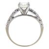 0.95 ct. Round Cut Bridal Set Ring, I, SI1 #2