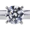 1.10 ct. Round Cut Bridal Set Ring, G, SI1 #4