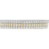 Round Cut Bangle Bracelet, I-J, SI1-SI2 #2