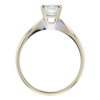 1.02 ct. Princess Cut Solitaire Ring, F, SI2 #3