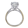 3.28 ct. Round Cut Solitaire Ring, I, I3 #3