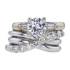 1.15 ct. Round Cut Bridal Set Ring #1