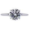 1.71 ct. Round Cut Solitaire Ring, H, VVS2 #3