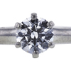0.61 ct. Round Cut Solitaire Tiffany & Co. Ring, F, VVS2 #4